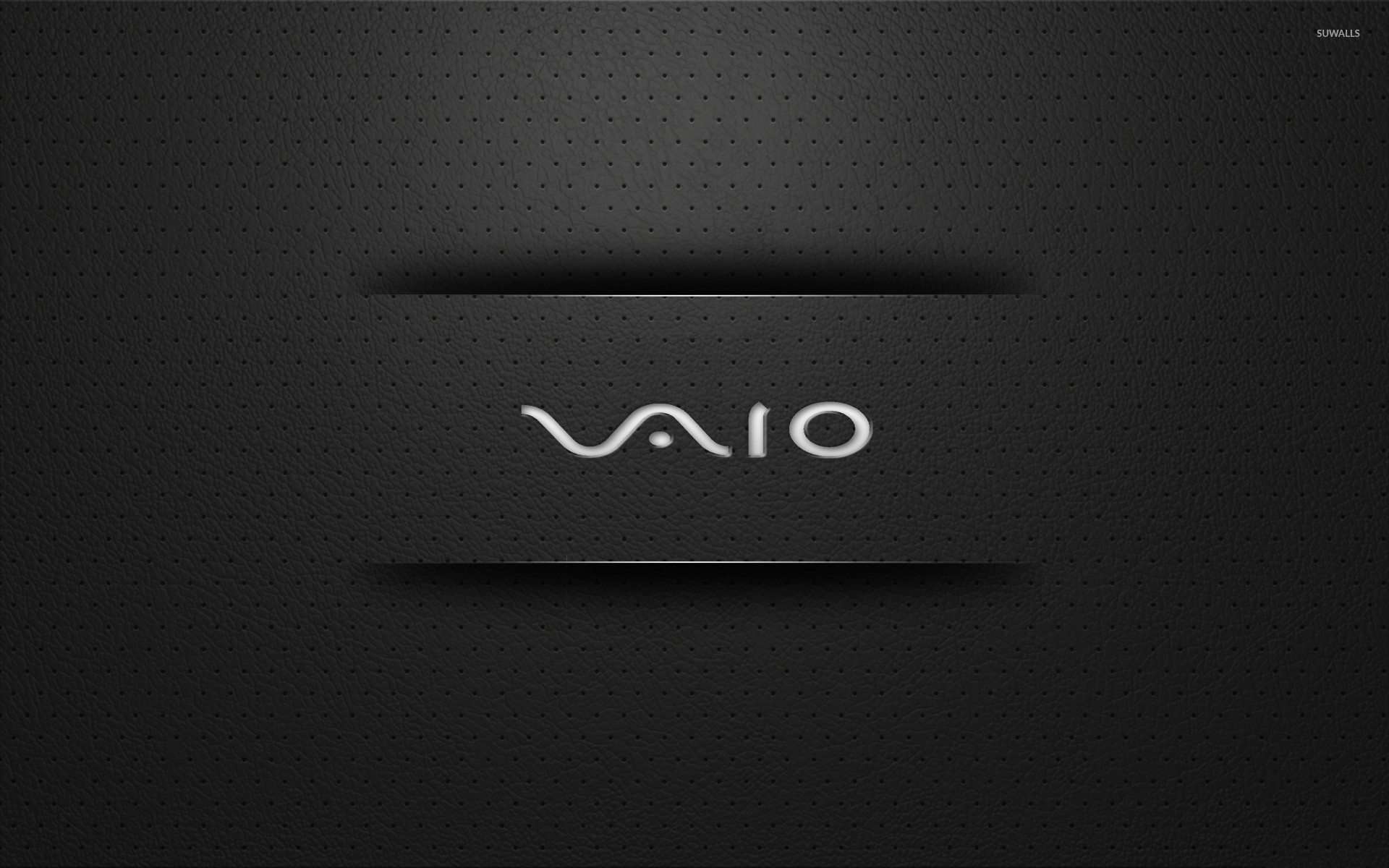 Vaio Wall Paper Black: Sony Vaio Wallpaper 1366x768