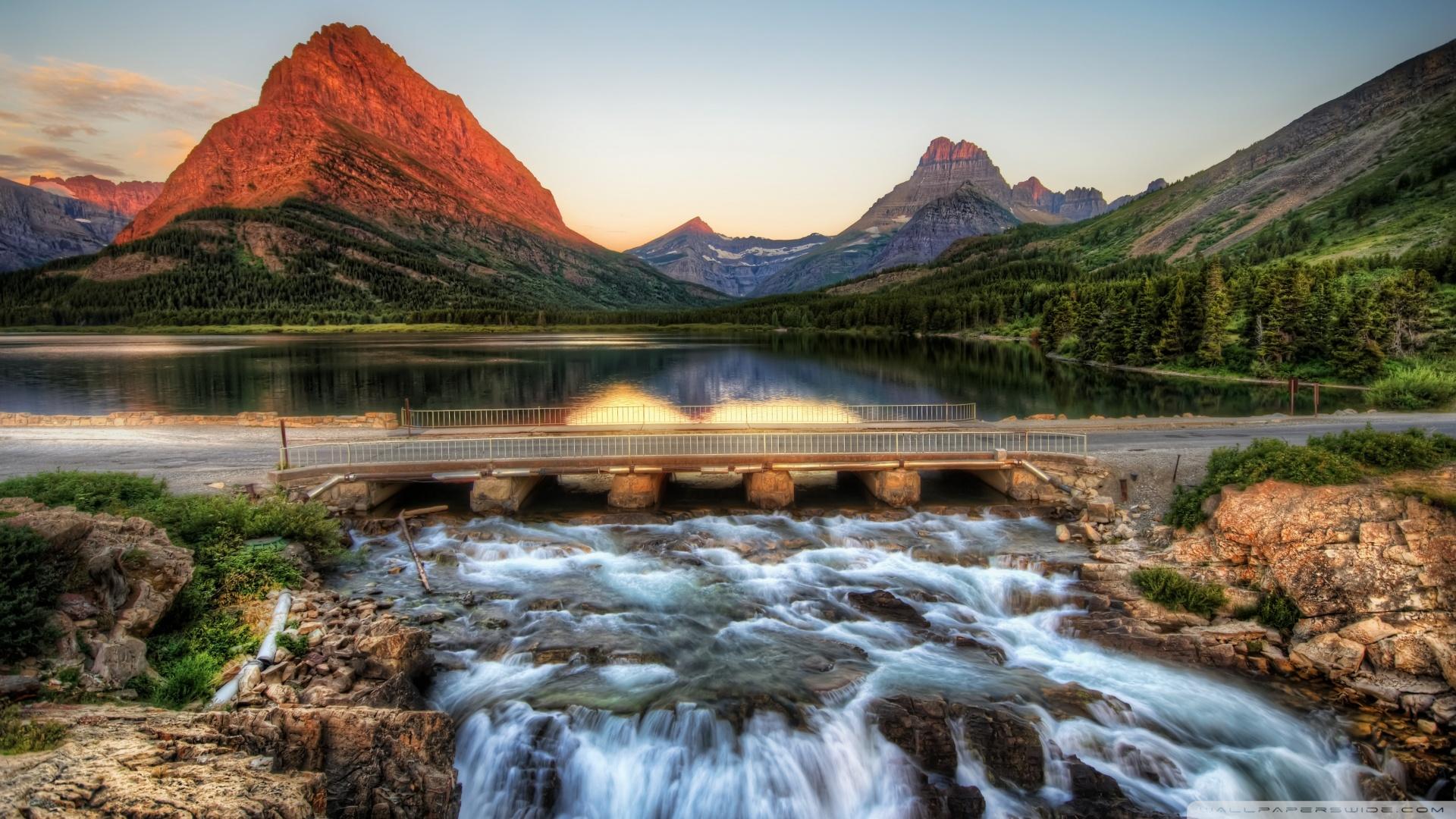 Free download Rocky Mountain Sunrise HD