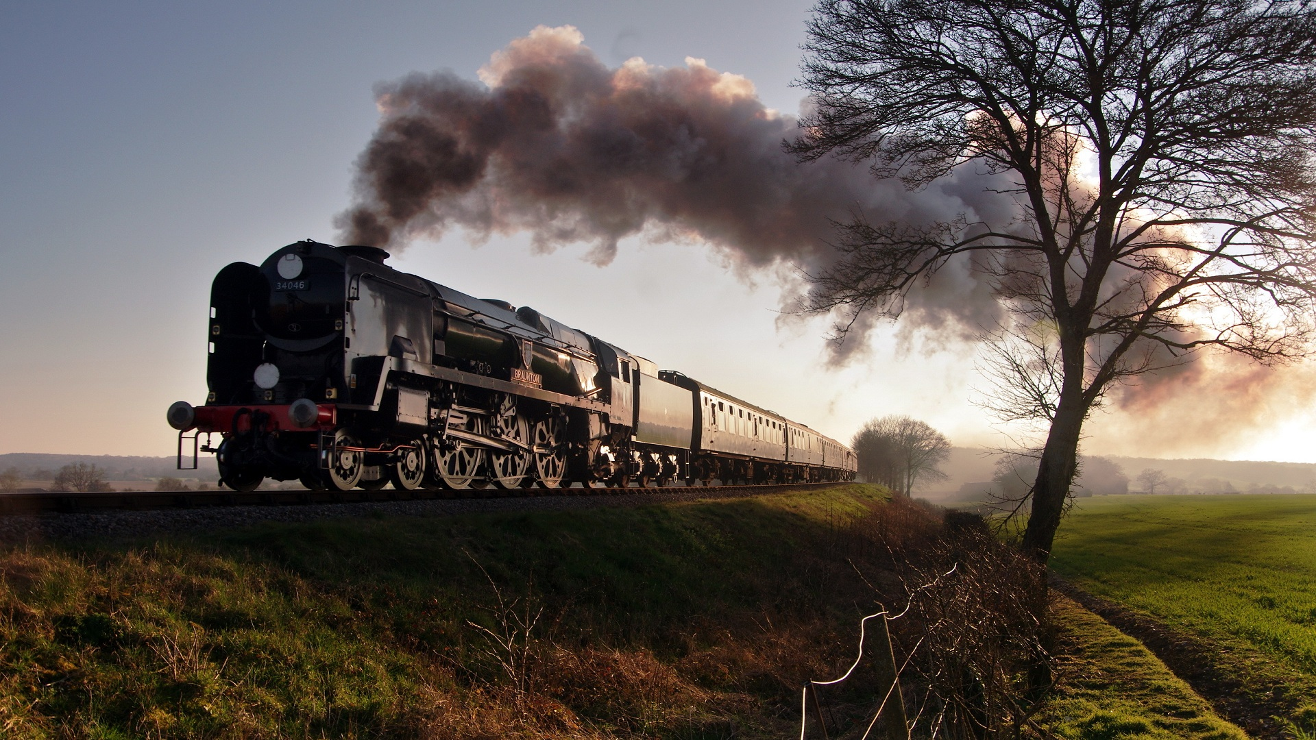 Steam Train Wallpaper 14   1920 X 1080 stmednet 1920x1080
