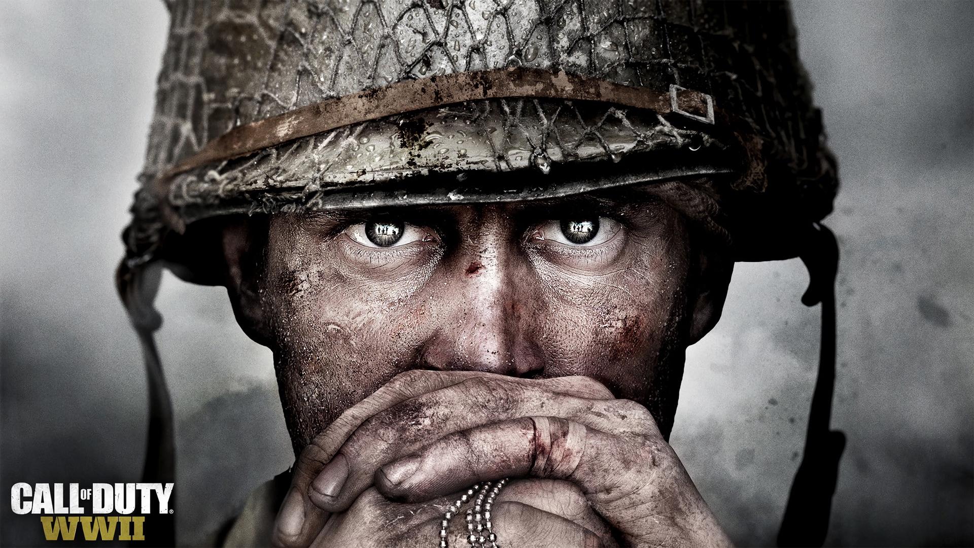 Desktop Wallpaper Call Of Duty Solider Video Game Face Hd 1920x1080