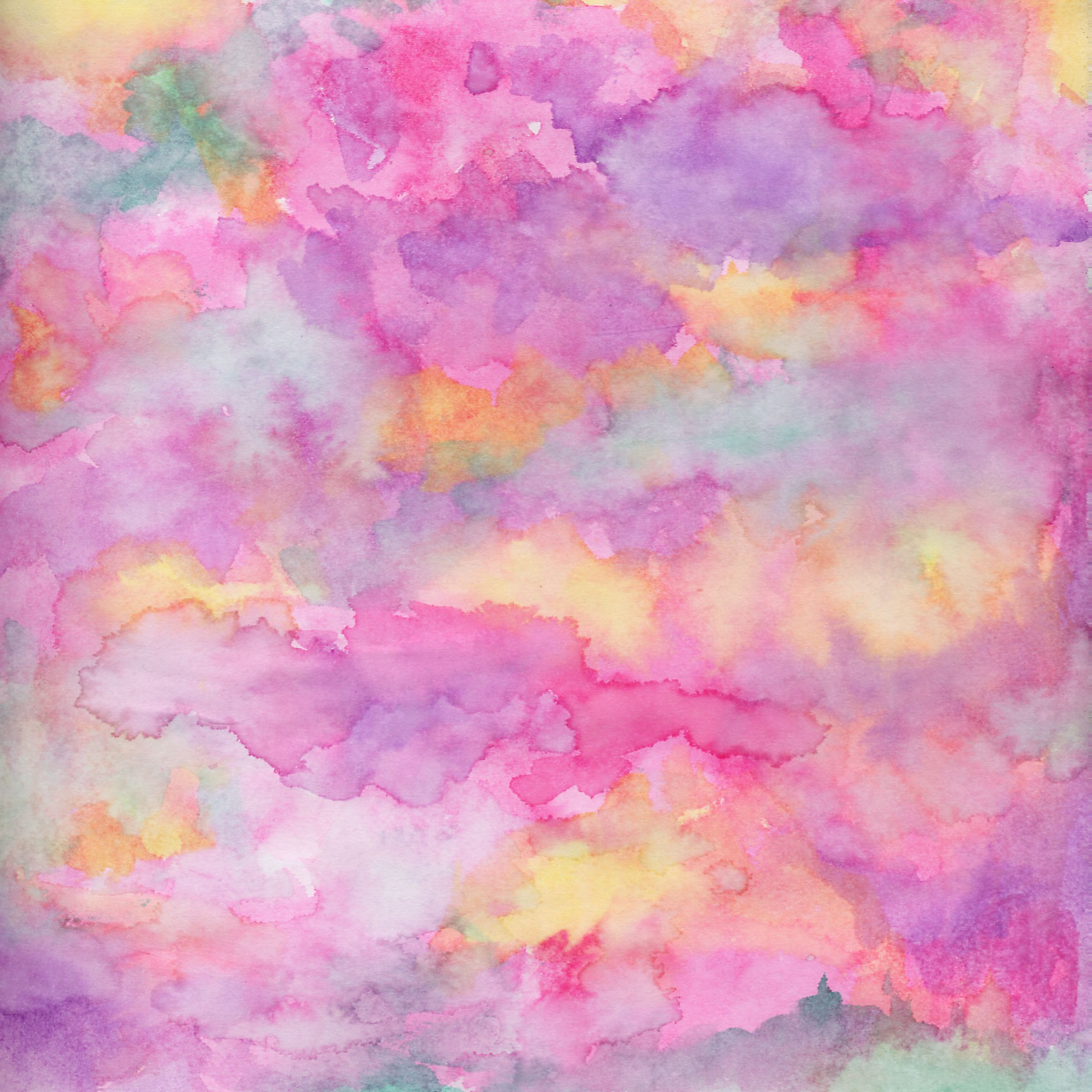 Watercolor texture background 12x12 inches for scrapbooking and 2400x2400
