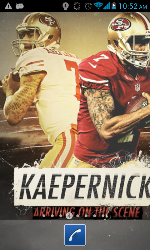 Download Colin Kaepernick Wallpapers for android Colin 480x800