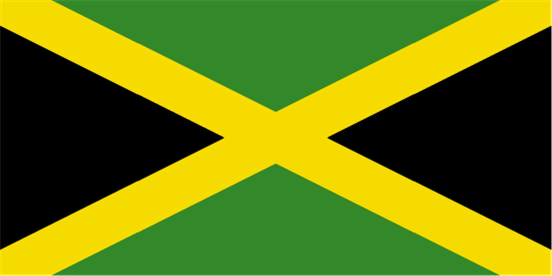 Jamaica Wallpaper Flage 16101 Wallpaper WallpapersTubecom 1100x550