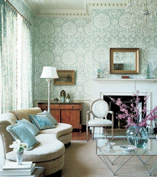 Wallpaper Plus Coordinating Fabric Done Right 540x609