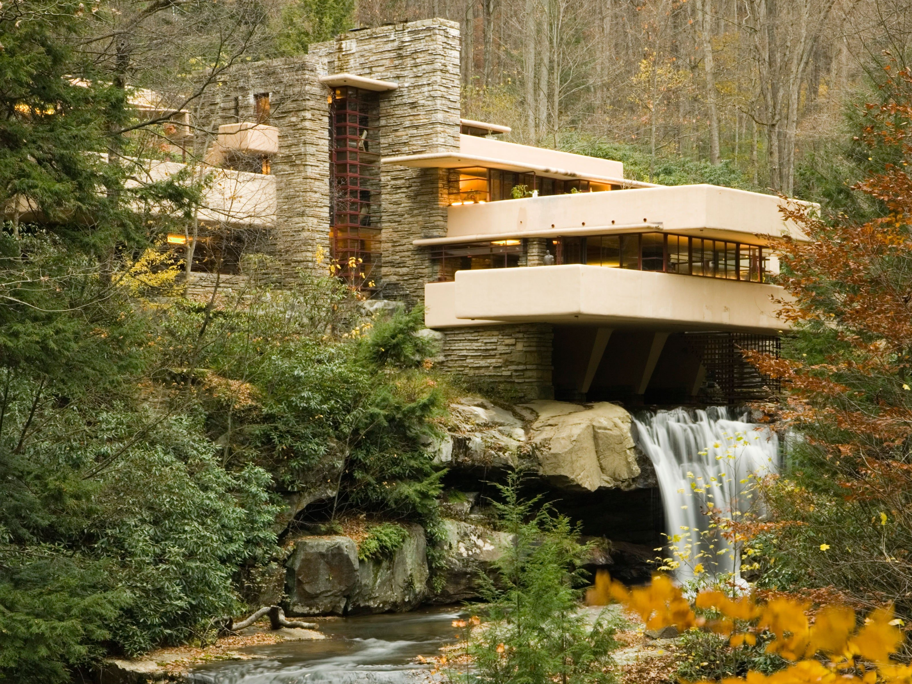 Frank Lloyd Wrights Fallingwater Damaged by Flood Cond Nast 3200x2400