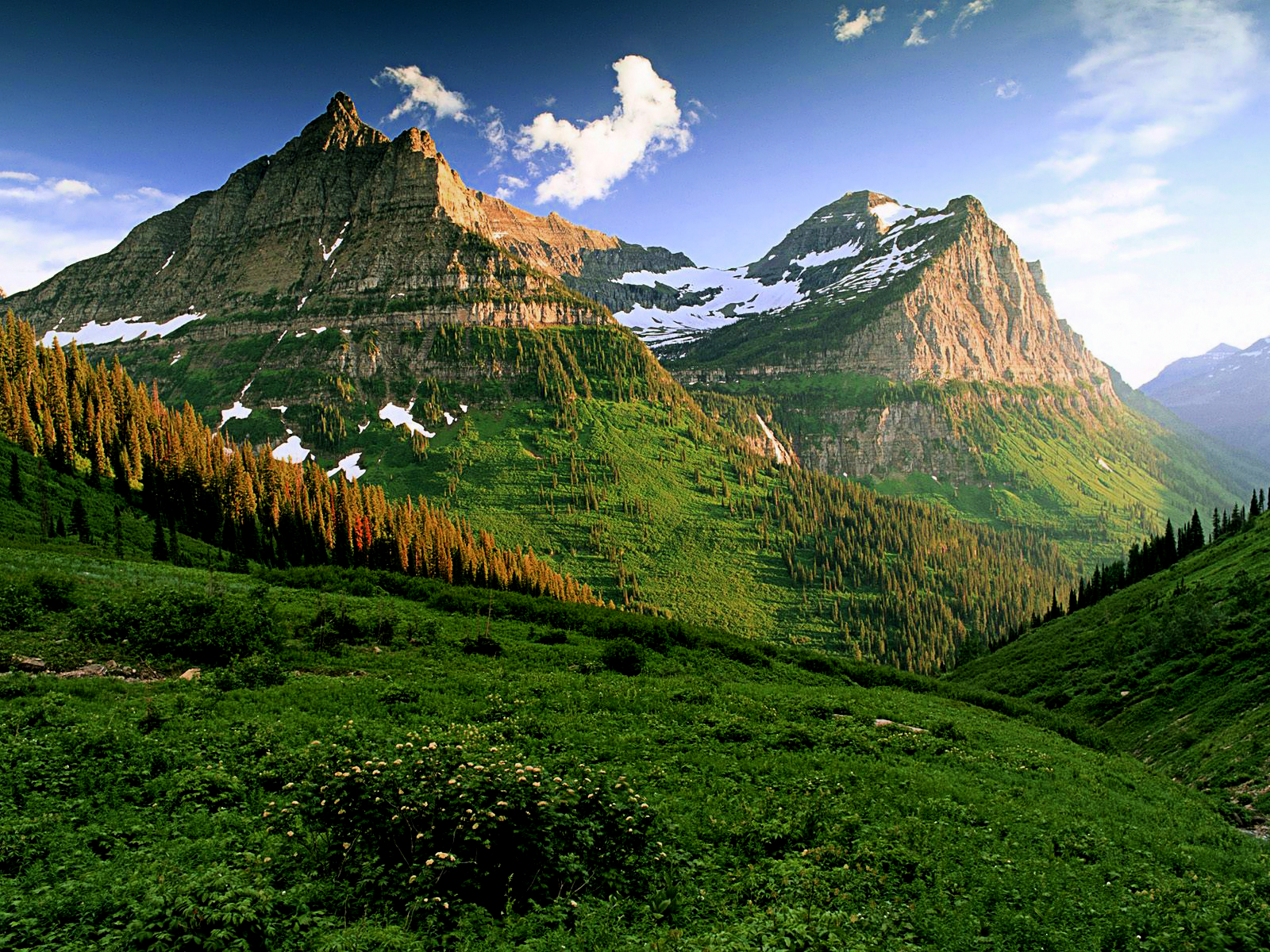 Pin Hd Glacier National Park Dual Monitor Screensaver Backgrounds on 1600x1200
