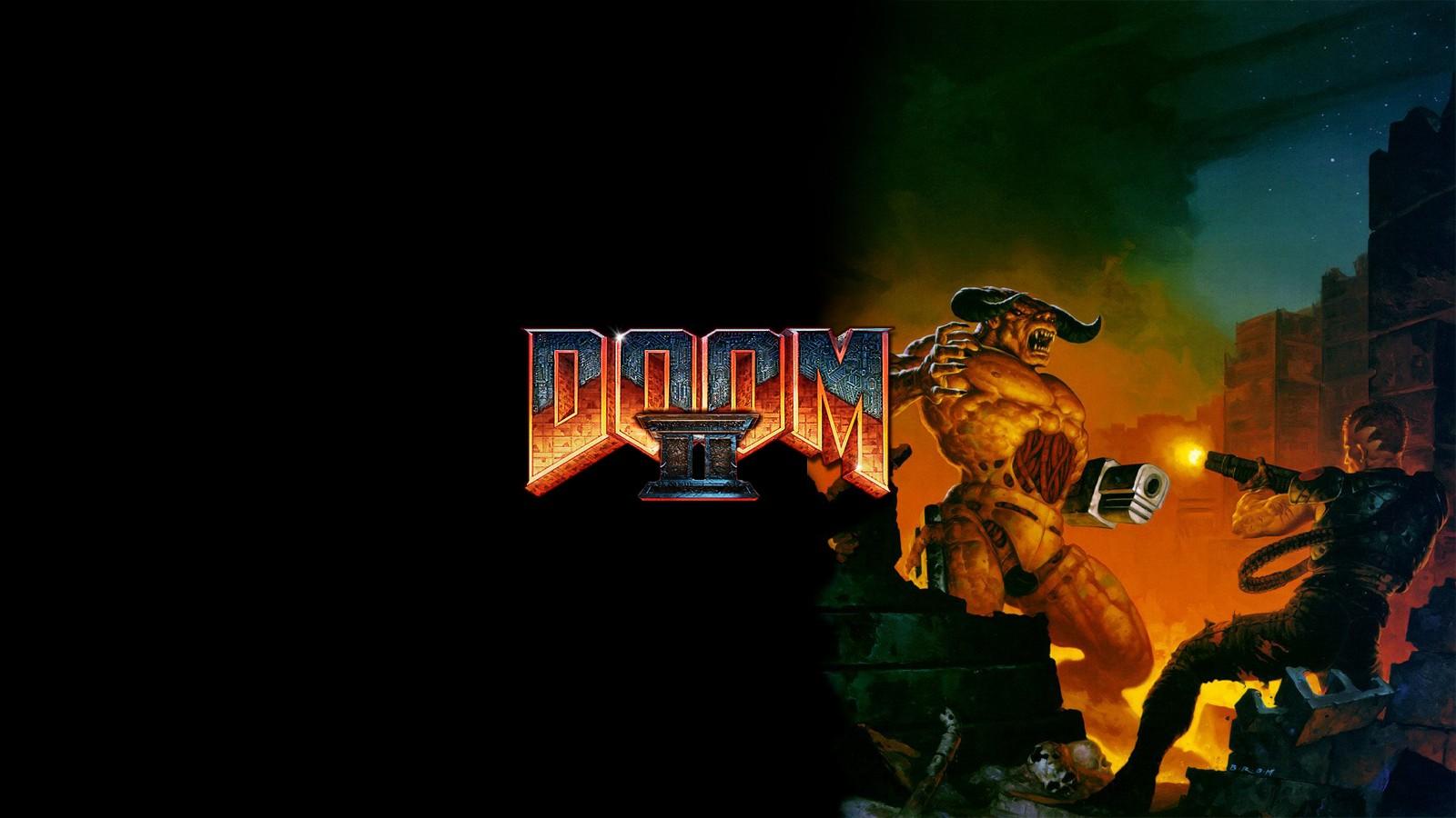 Doom retro games games wallpaper 1600x900 210117 WallpaperUP 1600x900
