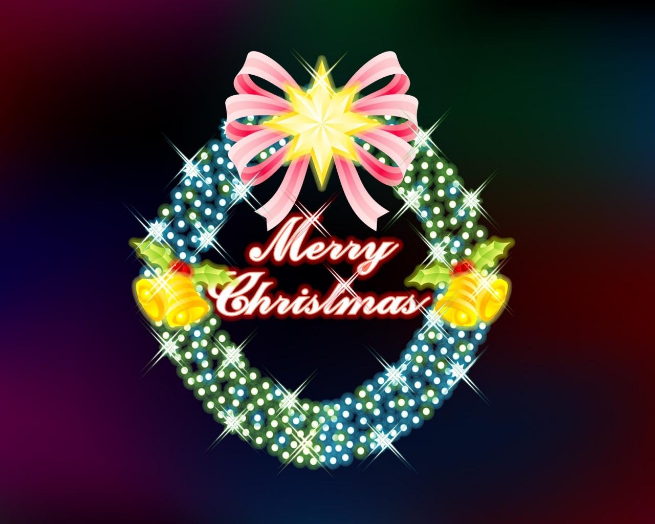 1280x1024 Merry Christmas desktop PC and Mac wallpaper 1280x1024