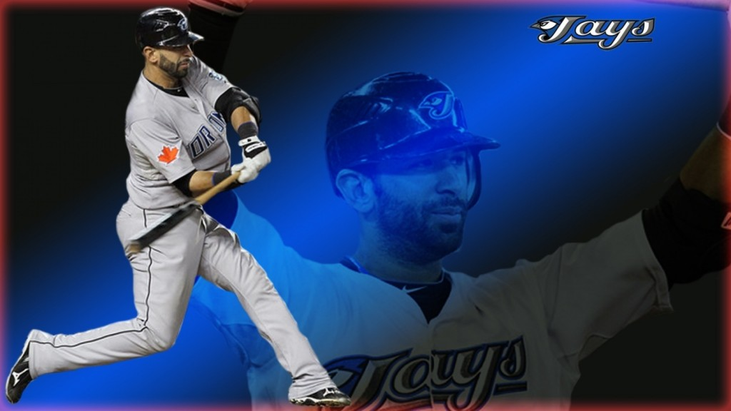 the real Jose Bautista fan this awesome Blue Jays desktop wallpaper 1024x576