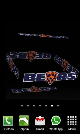 live wallpaper which will allow you to enjoy the Chicago Bears best 307x512