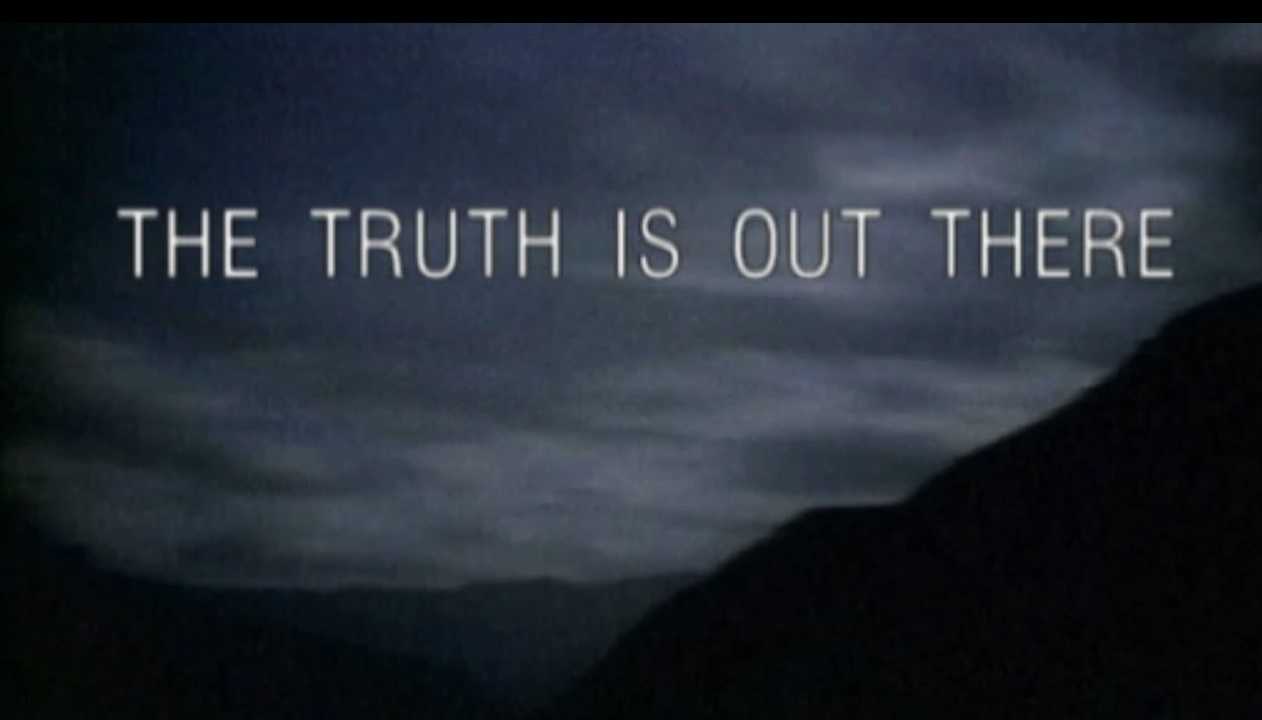Free Download Files Poster The Truth Is Out There