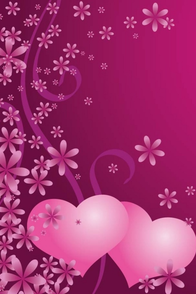 purple heart iphone wallpaper wwwpixsharkcom images