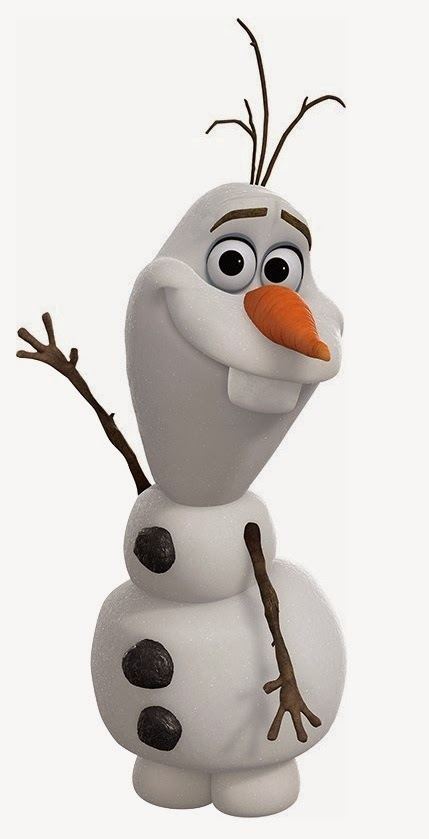 Olaf from Frozen Hes so cute and happy 429x839
