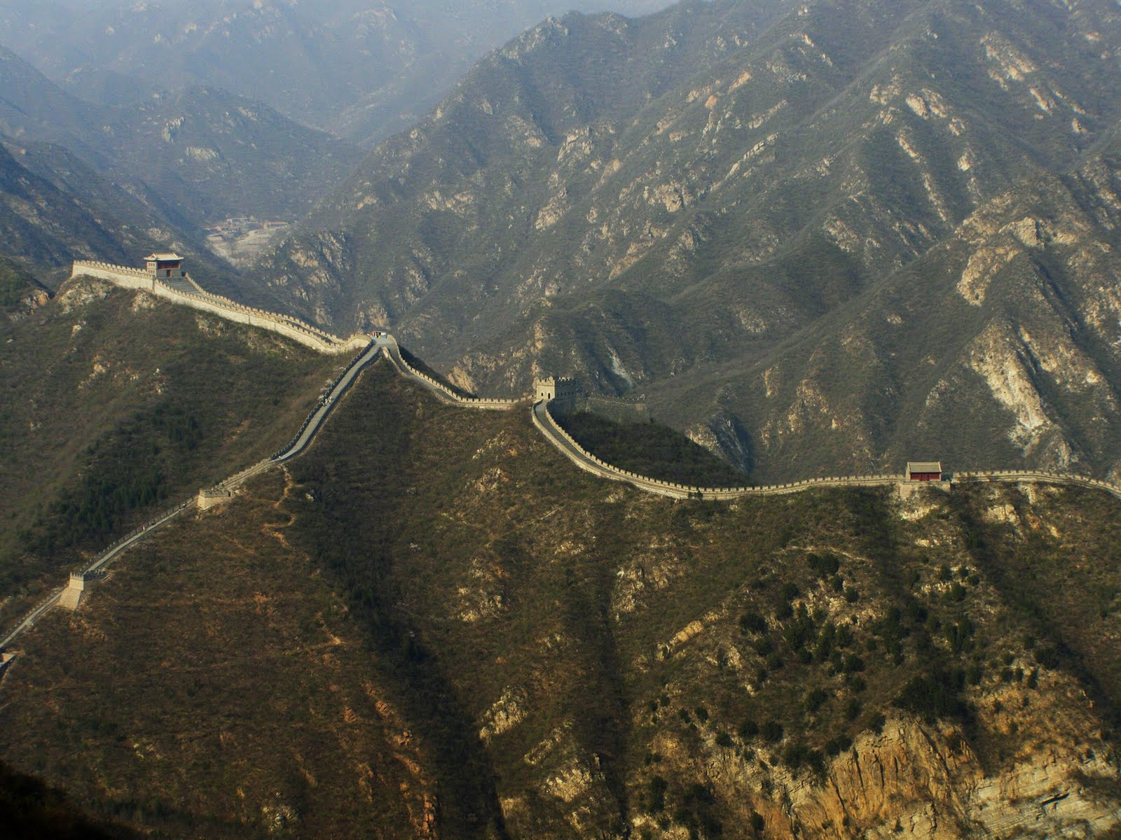 Wall of china view wallpaper 1600x1200 15201 1600x1200