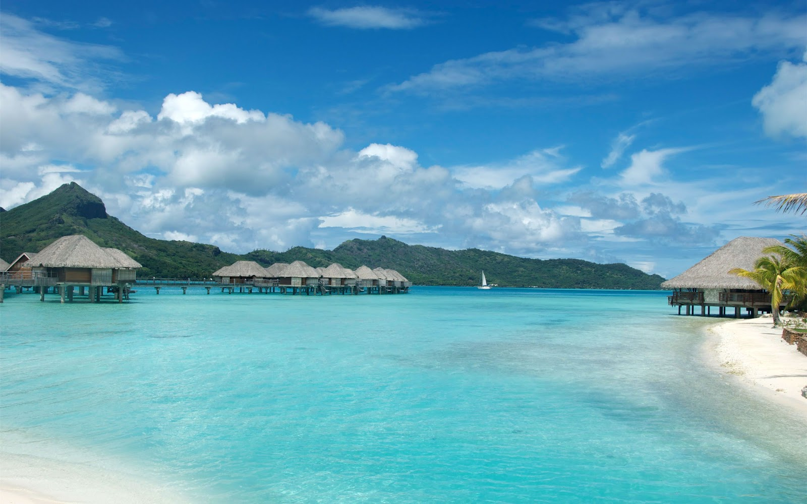 bora bora wallpaper widescreen