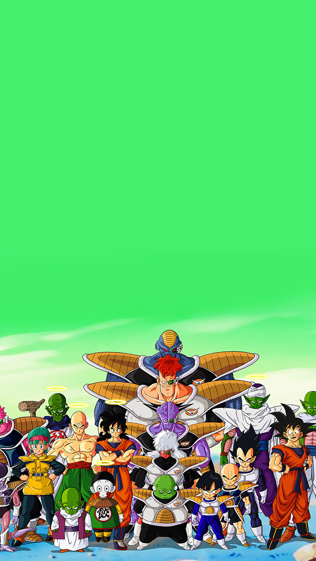 3Wallpapers Best Wallpapers for all iPhone Retina Dragon Ball Z 640x1136