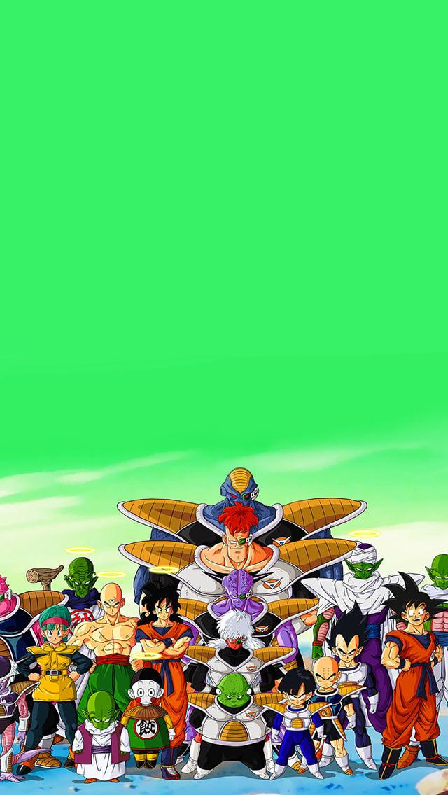 Dragon Ball Z Phone Wallpaper Wallpapersafari