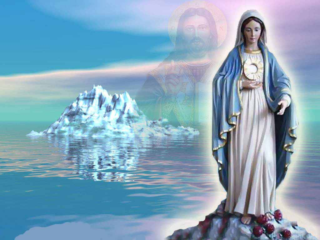 Mother Mary Wallpapers 1024x768