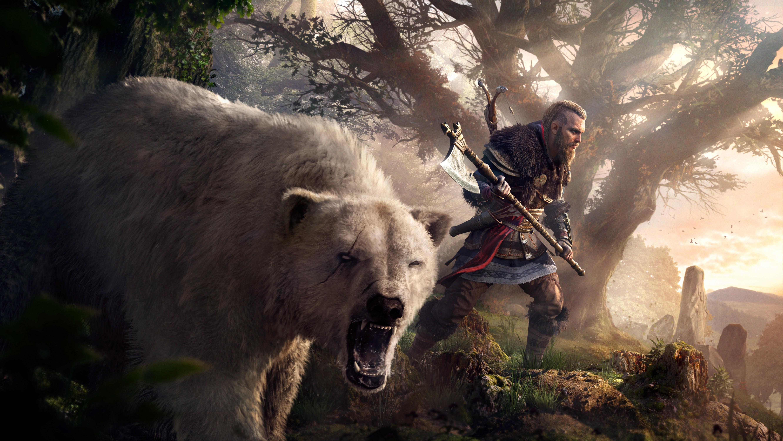 176x120 Eivor Polar Bear Assassins Creed Valhalla 176x120 5329x3000
