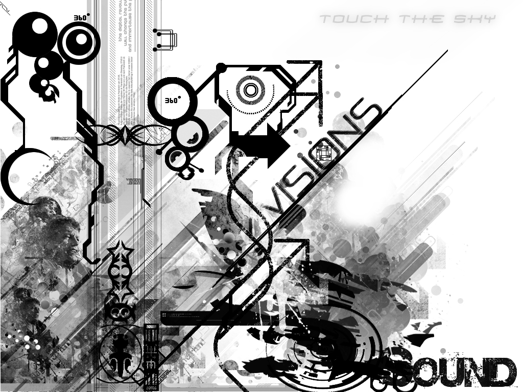 Black And White Design Wallpaper Black White Wallpaper Designs 1024x768