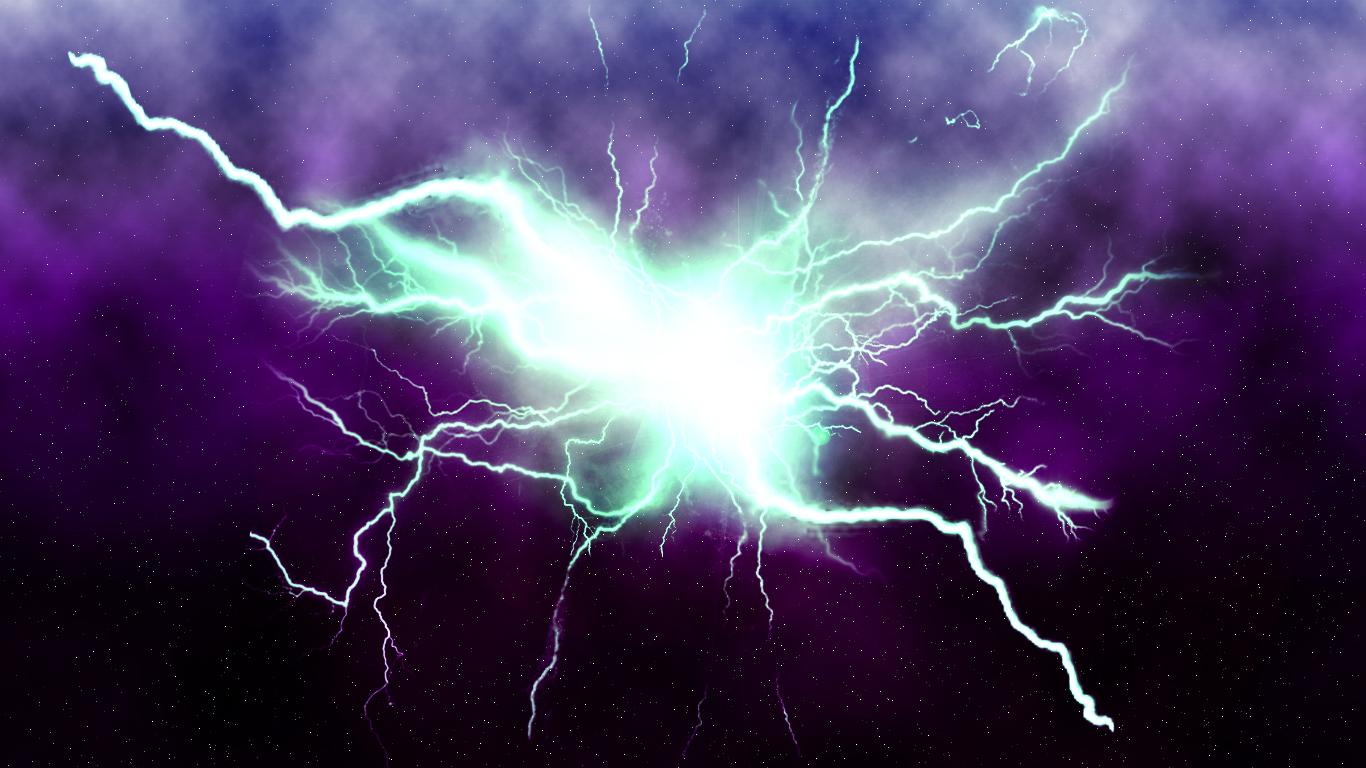 Background Photoshop wallpaper Lightning Background Photoshop 1366x768
