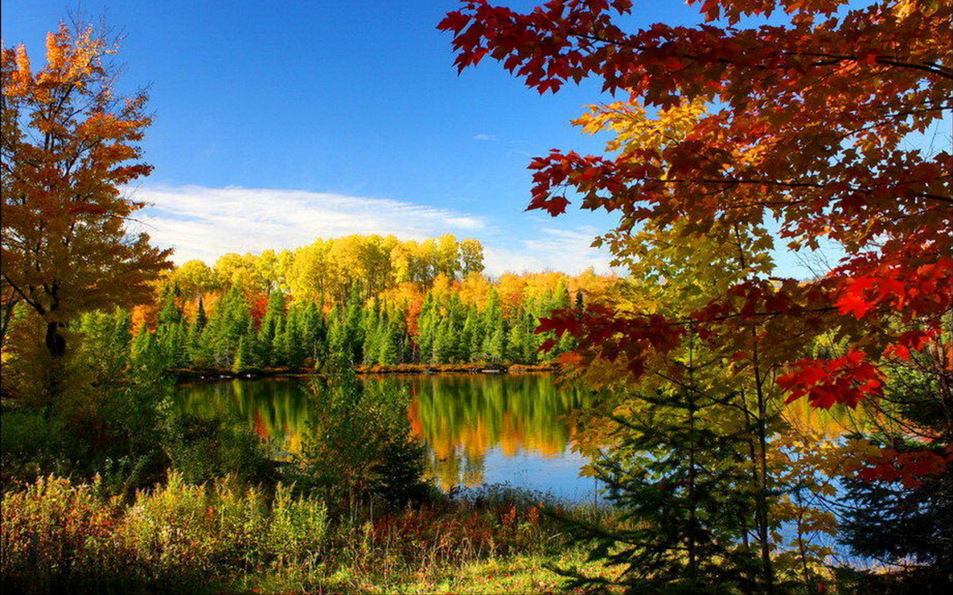 Lake placid wallpaper wallpapersafari for Desktop sfondi autunno