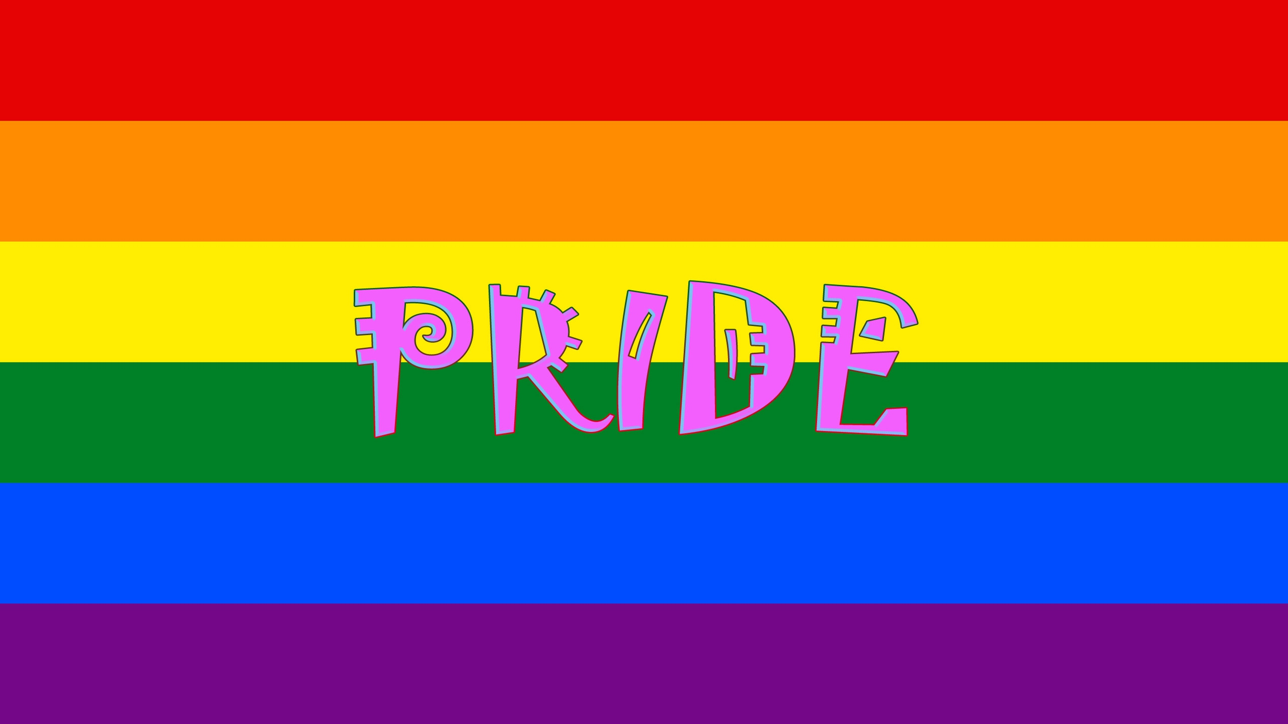 HD Gay Pride Backgrounds 2560x1440