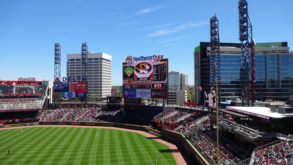Truist Park   pictures information and more of the Atlanta Braves 1024x576