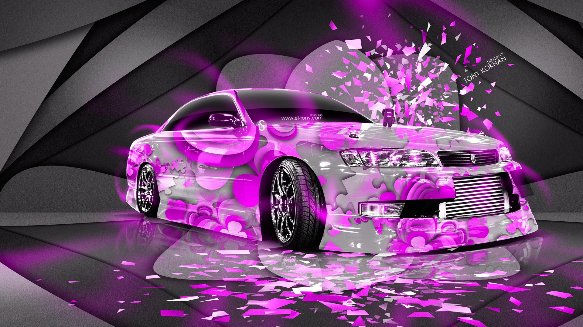 Neon Car Wallpaper WallpaperSafari - Cool cars 2014