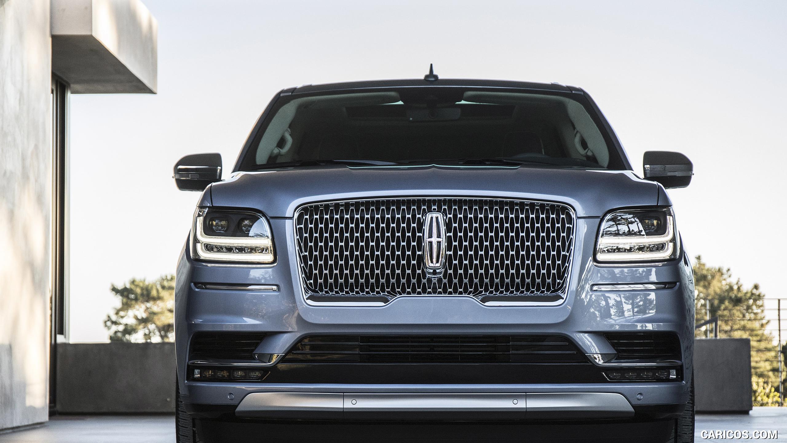 2018 Lincoln Navigator   Front HD Wallpaper 8 2560x1440