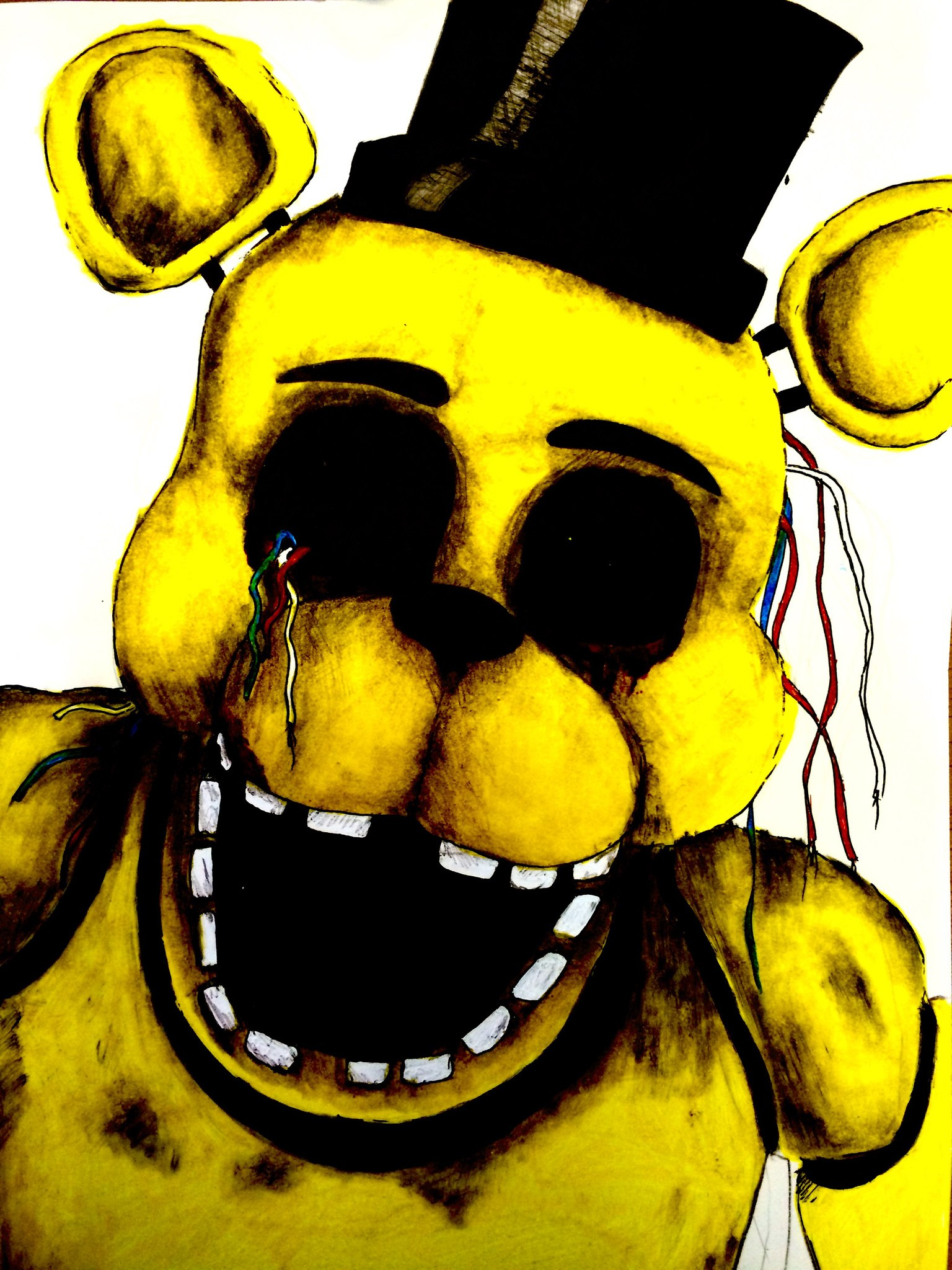 Golden Freddy by rosharp 1536x2048