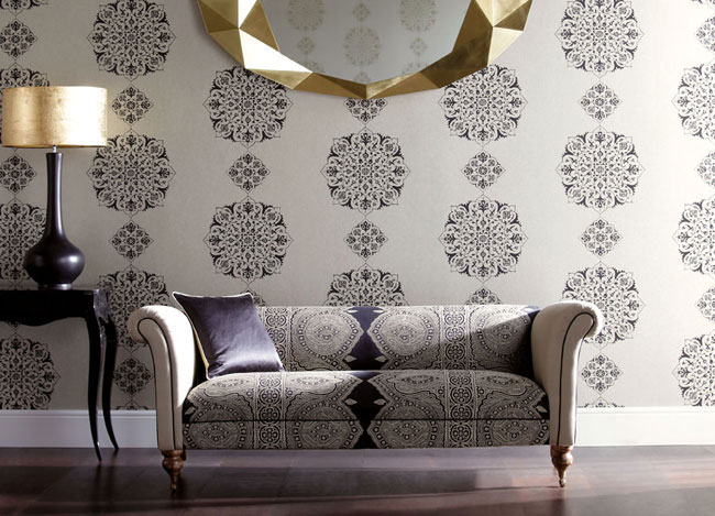 18 Fresh Harlequin wallpaper and fabrics 650x469