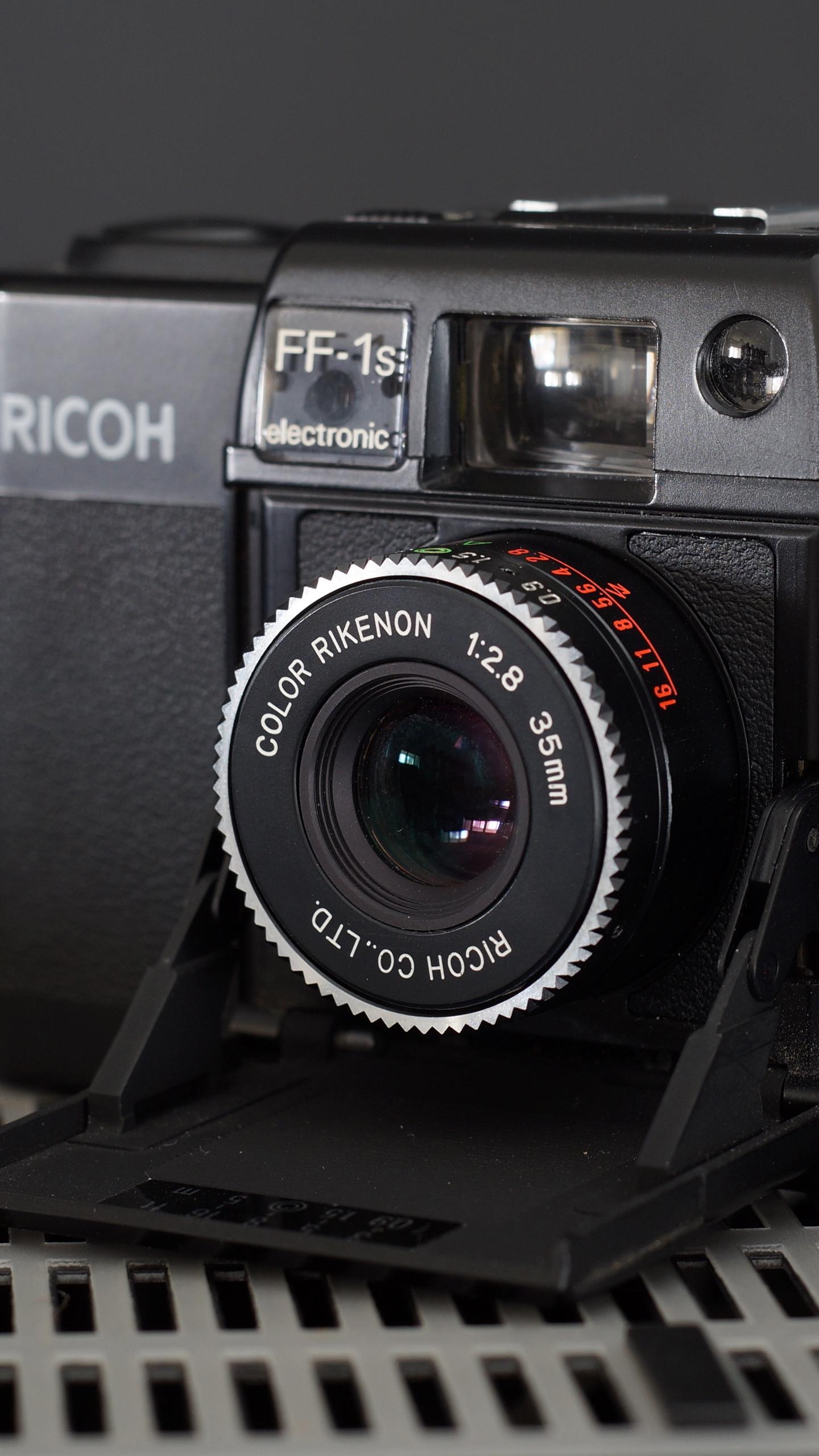 Download wallpaper 1440x2560 ricoh ff 1s camera lens qhd samsung 1440x2560