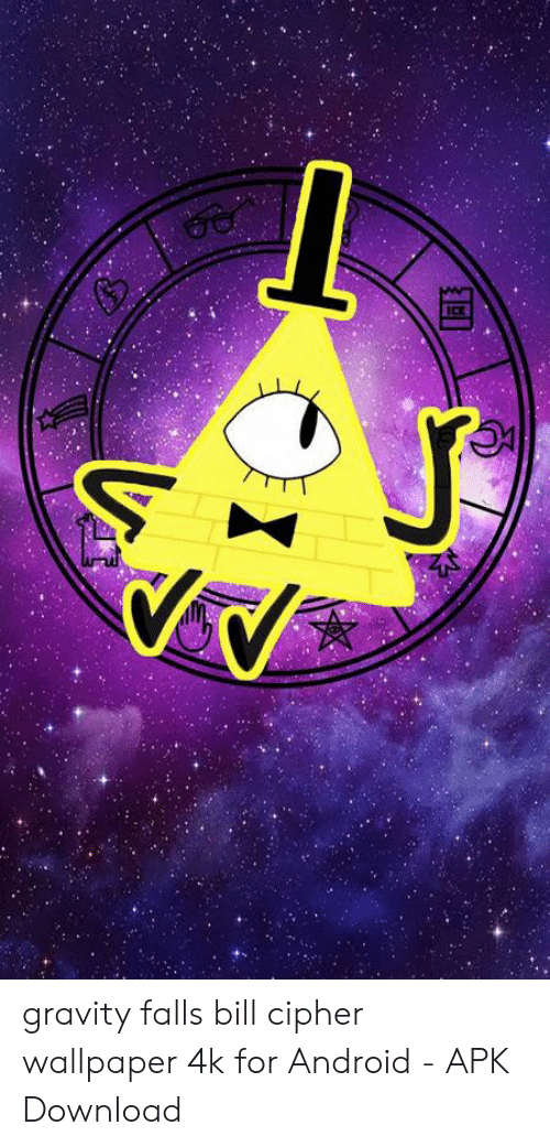 ICE Gravity Falls Bill Cipher Wallpaper 4k for Android   APK 500x1041