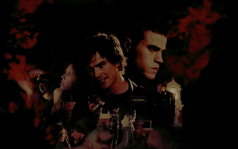 Damon Stefan   The Vampire Diaries Wallpaper 8415174 1440x900