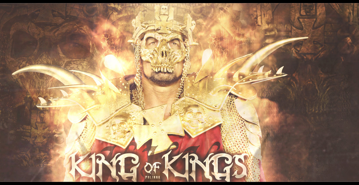 triple h king of kings logo triple h king o 1245x641