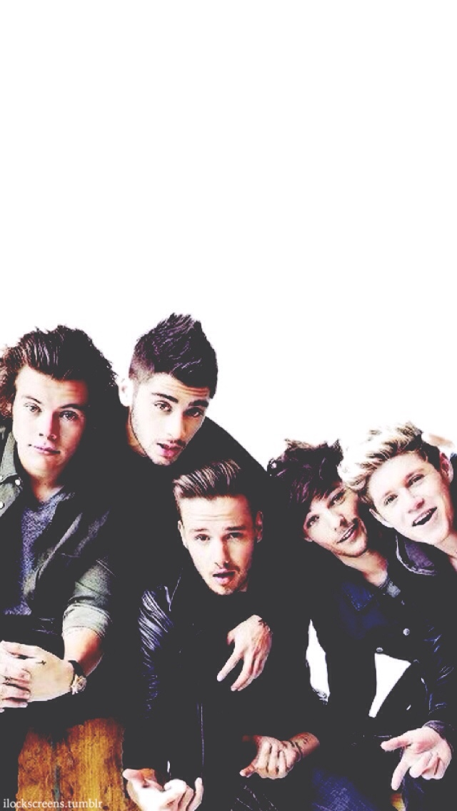 One Direction iPhone Wallpaper - 128.1KB