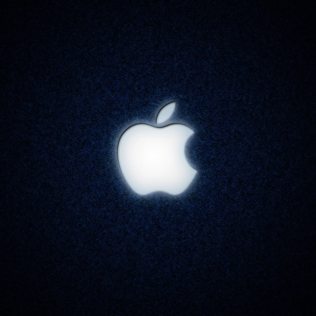 Dark Apple Logo iPad Wallpaper Download iPhone Wallpapers iPad 1024x1024