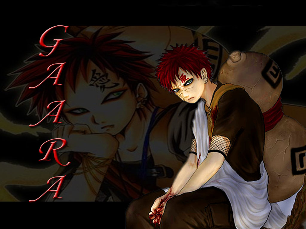 Gaara   Gaara of Suna Wallpaper 27045232 1024x768