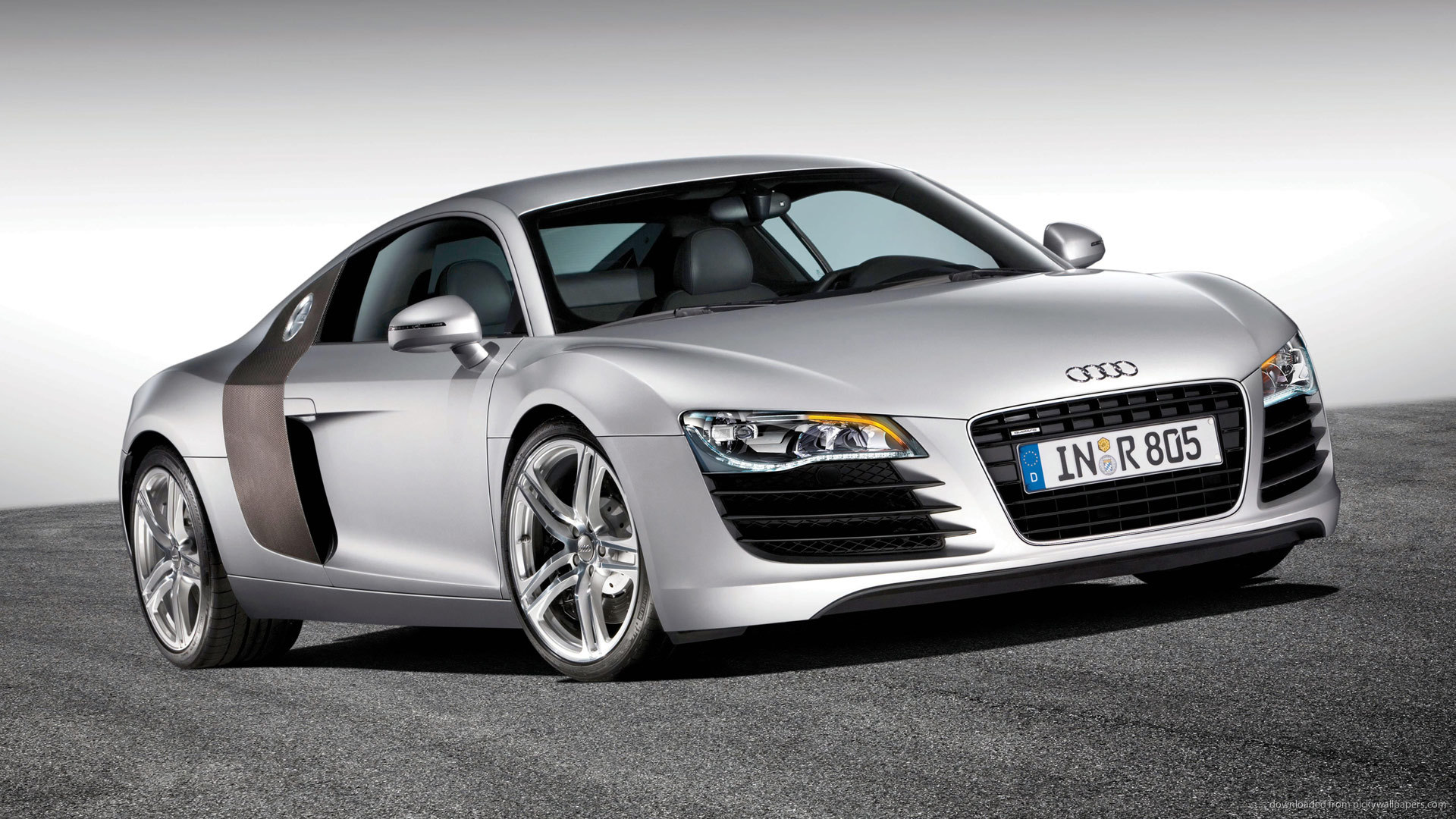 audi wallpaper white cars 1920x1080