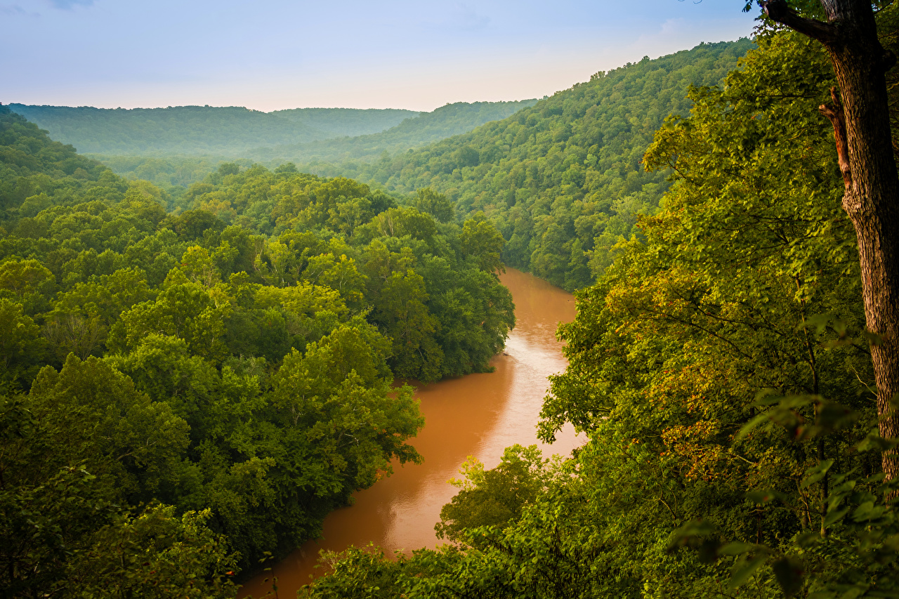 Images USA Mammoth Cave National Park Nature Parks Forests Rivers 1280x853