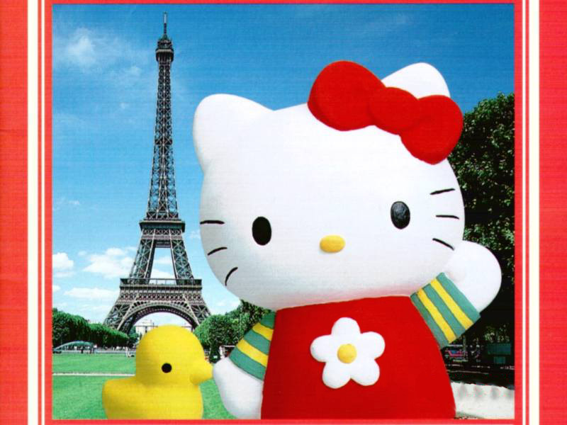 Free Download Hello Kitty Summer Desktop Wallpaper Hello