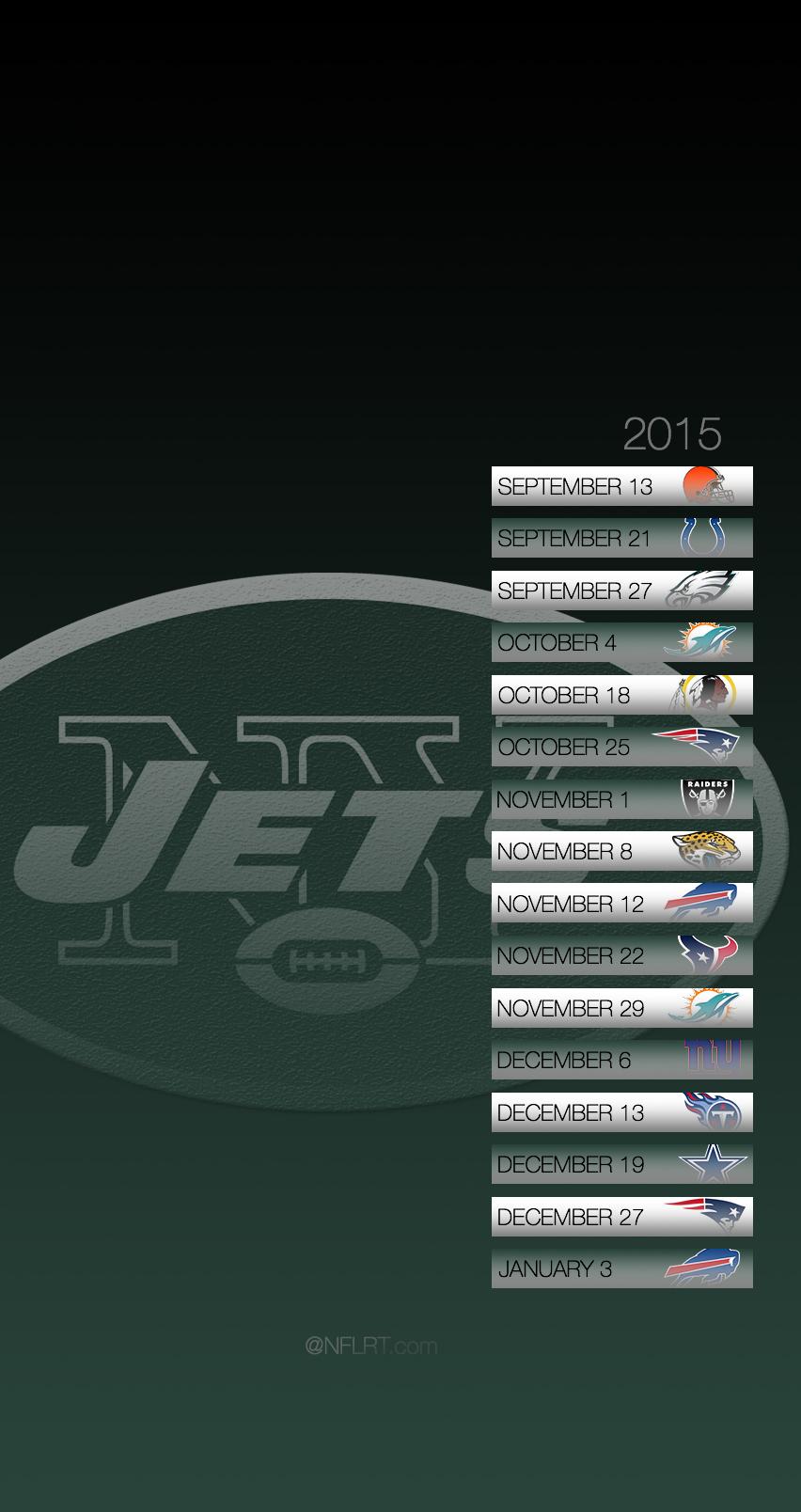 50 Ny Jets Wallpaper 2015 Schedule On Wallpapersafari