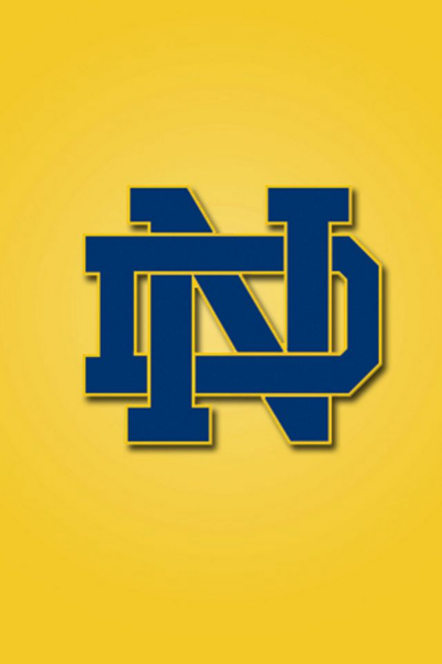 Notre Dame Fighting Irish Wallpaper 640x960