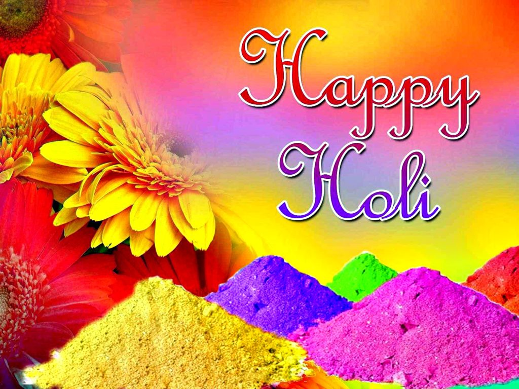 Happy Holi Festival 2018 Best Wishes 19 HD Images and 1024x768