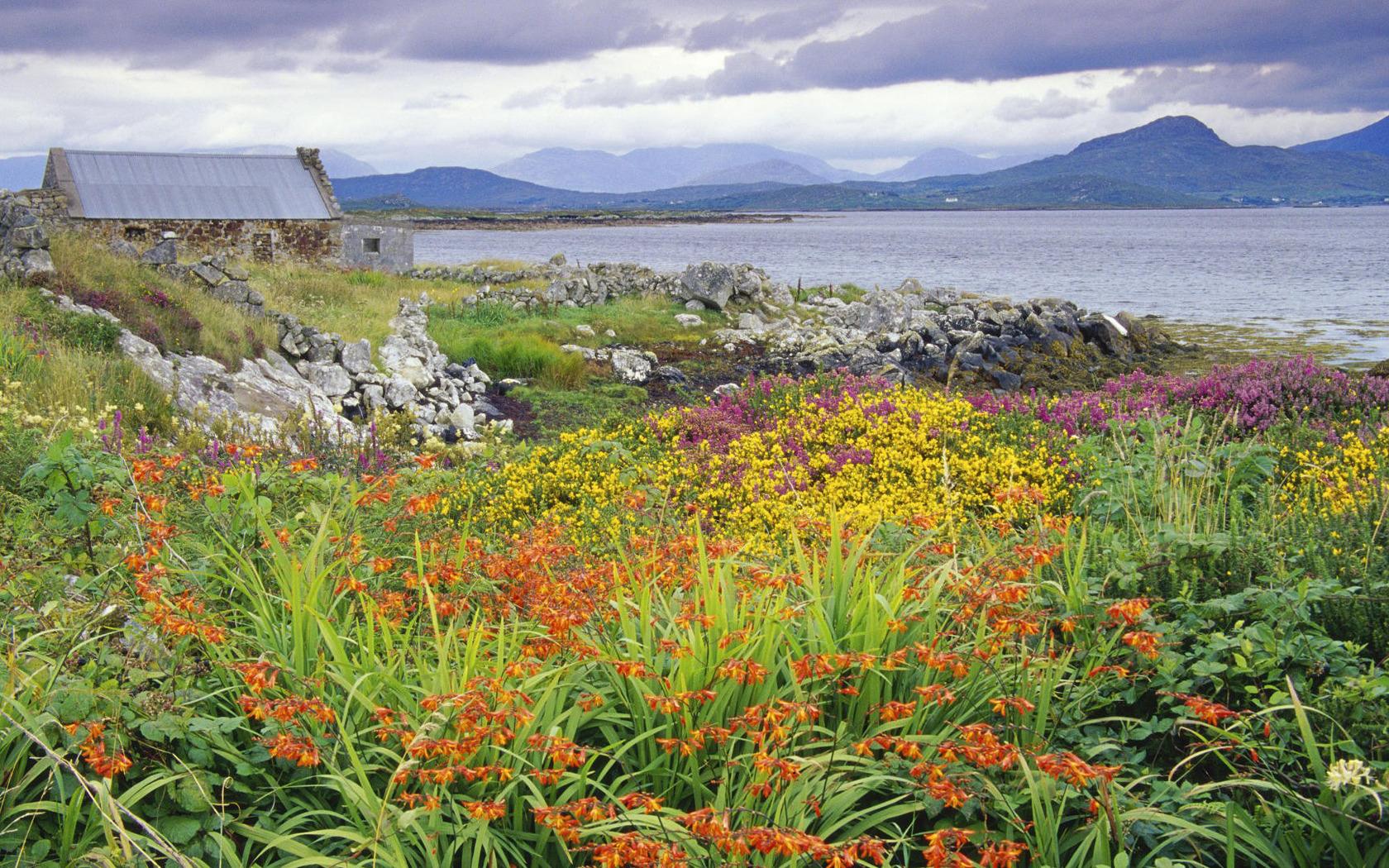 Carna bay Ireland wallpaper 2544 1680x1050