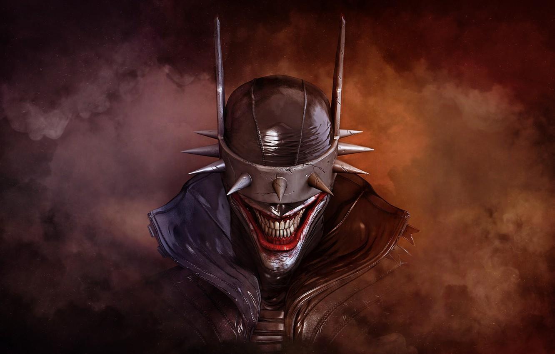 Wallpaper Figure Smile Face Mask Monster Art Horror Batman 1332x850