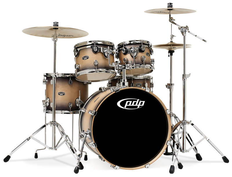 PDP Kits   Pacific Drums and Percussion FS Series   Matte Lacquered 800x610