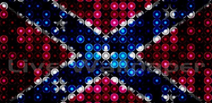 LED Rebel Flag Live Wallpaper 705x344