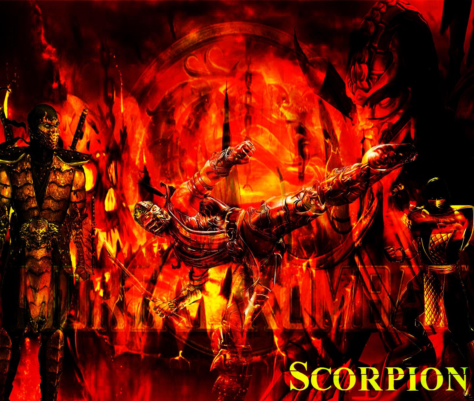 Mortal Kombat 9 Scorpion Wallpapers 1600x1354